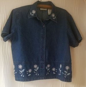 Erica Top Size Large Womens